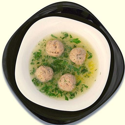 Бульон фрикадельками рецепт фото